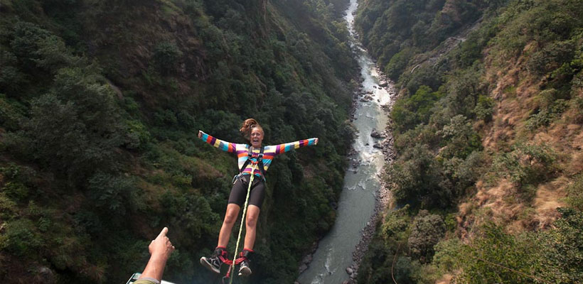THE EXPERIENCE OF A LIFETIME - BUNGEE JUMPING